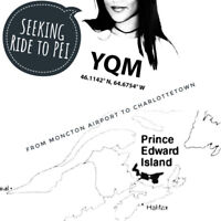 YQM - Moncton Airport to Charlottetown June 18th