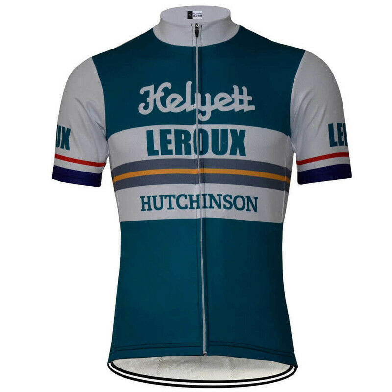 Vintage Team Gitane Leroux Retro Cycling Jersey Tom Simpson