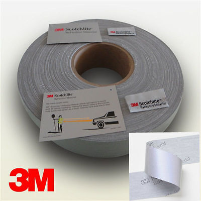 New Reflective Silver Tape - Sew On 1 Or 2 Trim Fabric