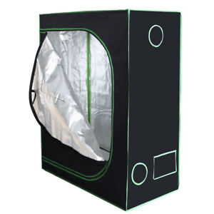2'x4' Indoor Grow Tent, Hydroponic 100% Reflective Mylar