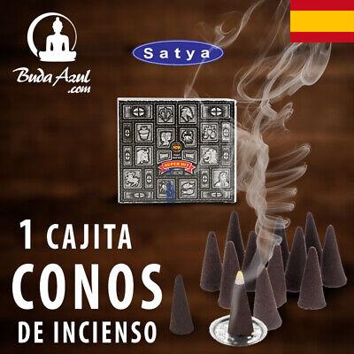 CONOS INCIENSO SUPER HIT SATYA 1 CAJITA CONO INDIO FRAGANCIA LARGA DURACION