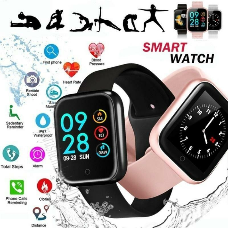 Fashion Business Bluetooth IP67 Smart Watch For Men Women Ki