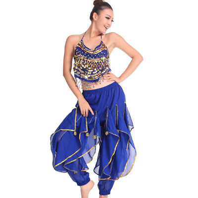 C91801 Bauchtanz Kostüm Oberteil Top & Hose Belly Dance