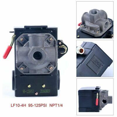 Lefoo Quality Air Compressor Pressure Switch Control 95-125psi 4 Port Wunloader
