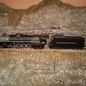 Lionel O Scale Delaware - Lackawana & Western Steam Engine 4-8-4