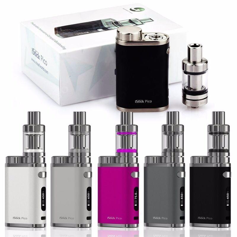 iStick Pico E Cig Electronic e Shisha 75W e Cigarette MOD KIT USB EXTRA Coil Variable BRAND NEW SEAL