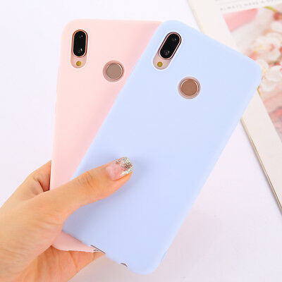 Colorful Candy (Candy Color Case for Huawei P20 Mate 20 Lite Honor 7C 7A Pro Soft Silicon)