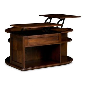 Coffee Table with Double Lift Top