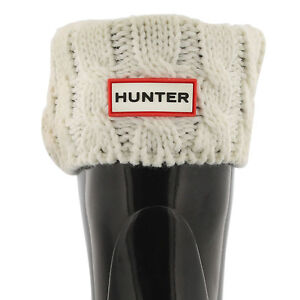 HUNTER Boot Socks- Cable Knit