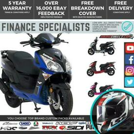 Lexmoto Titan 125 125cc Scooter FINANCE   UK DELIVERY   Large Cheap Scooter
