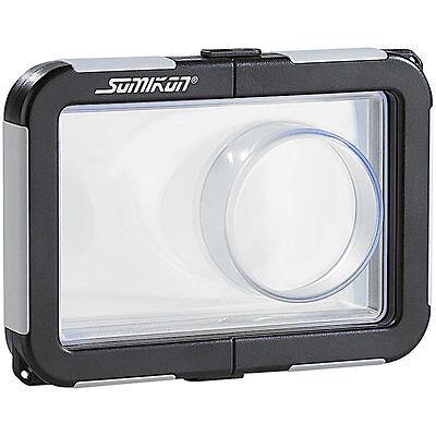 Somikon Kamera-Tauchgehäuse mit Objektivführung (max. 99 x 64 x 20 mm)