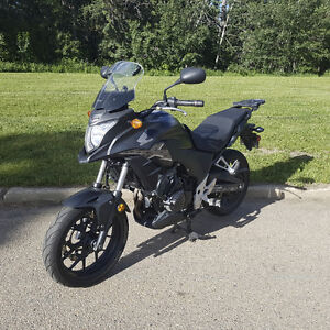 2013 CB500X ABS with lots of extras