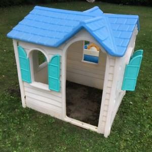 Maisonnette extérieur pour enfant