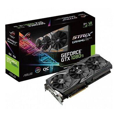 ASUS® GeForce GTX 1080Ti OC ROG-STRIX-GTX1080TI-O11G-GAMING Graphics Card *BNIB*