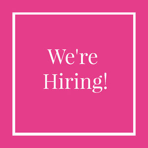 We're hiring! Part Time Admin Assistant