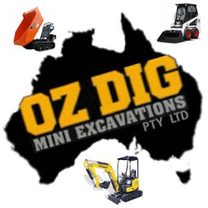 mini excavator in Sydney Region, NSW   Construction Equipment