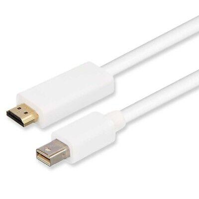Cavo Monitor Mini DisplayPort Thunderbolt a HDMI 1.8m per Macbook Air Pro