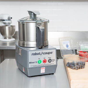 Robot Coupe Blixer 2 Food Processor with 2.5 Qt. Stainless Steel