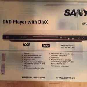 Sanyo DVD Player with DivX