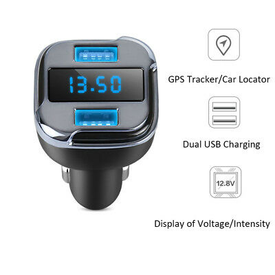 Car Gps Locator Tracker Finder Usb Charger Mobile App Real Time Tracking Adapter