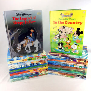27 Walt Disney Books Classic Storybook Collection Mouse Works