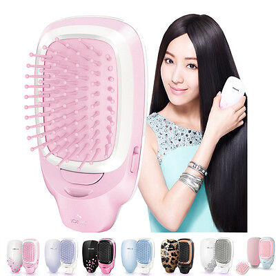 New Philips Electric comb Series EasyShine Ionic styling brush battery operated