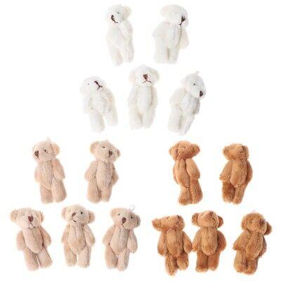5PCS Kawaii Small Bears Plush Soft Toys Gifts Pearl Velvet Dolls Mini Teddy Bear - Small Teddy Bear