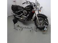 KAWASAKI VN800. ONLY 7341 MILES. STAFFORD MOTORCYCLES LIMITED