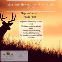 Militaria, Hunting and Sportsman Show