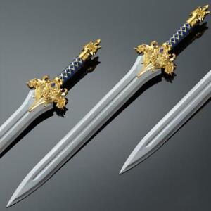 WOW World of Warcraft Lane the king sword 1:1 Full Metal Weapon Cosplay Props Replica 220338