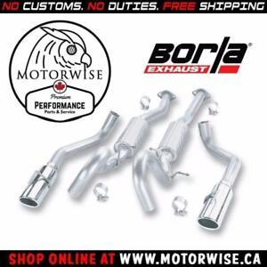 Borla S-Type Catback Exhaust System | 1999 to 2004 Ford Mustang GT | Shop & Order Online at motorwise.ca
