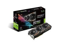 Asus GTX 1080 8GB Rog Strix Graphics Card‎ BRAND NEW SEALED - *** BITCOIN MINING CARD ***