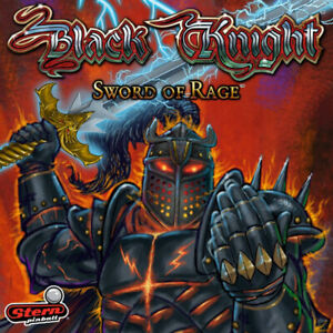 Black Knight Pinball - Sword of Rage! Available at Nitro!