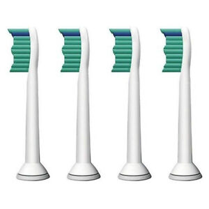 4 PCS ProResults toothbrush heads for Philips Sonicare FlexCare Platinum 9172
