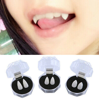 Bloodcurdling Vampire Werewolves Fangs Fake Dentures Teeth Costume Party COSPLAY - Costume Fake Teeth