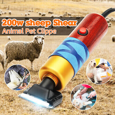 200w Electric Farm Supply Sheep Goat Shears Animal Pet Grooming Shearing Clipper