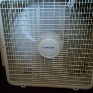 """23""""  Airworks fan - like new condition"""