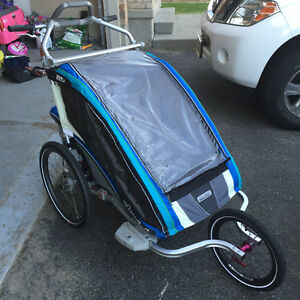 Thule Chariot CX 2 Stroller-Run/Walk Bike (Barely used) London Ontario image 1