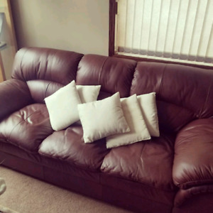 Couch and furniture for sale!