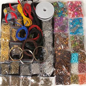 MEGA-Bastelpaket-bastelset-Schmuck-machen-schmuckherstellung-Perlen-6600-Teile