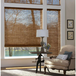 Hunter Douglas Bamboo blinds