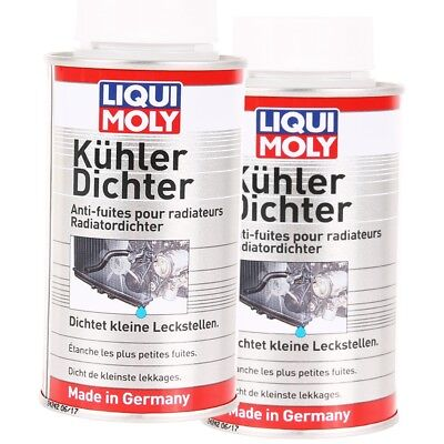 2x 150 ml LIQUI MOLY Kühlerdichter Kühler-Dichtmittel-Additiv