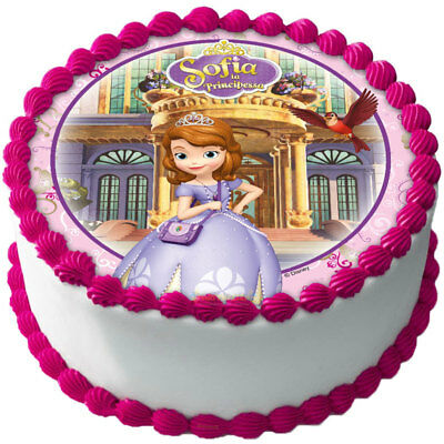 Essbar Tortendeko Sofia die Erste Tortenaufleger NEU Geburtstag Party Deko neu ()