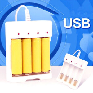 Chargeur 5V USB pour Batteries rechargeables AA AAA  YYYY