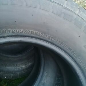 LT265 70 R17 tires Kitchener / Waterloo Kitchener Area image 2