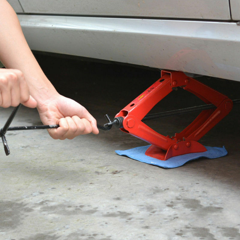 Scissor jacks are common in many of today's new cars.