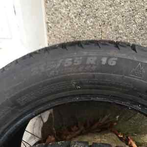 Michelin Ice- 2 Tires- 215/55/R16
