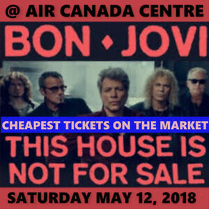 BON JOVI @AIR CANADA CENTRE –CHEAPEST FLOOR & BALCONY OPTIONS!