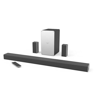 "Vizio 36"" SmartCast 5.1 Wireless Soundbar System - Black SB3651-E6"