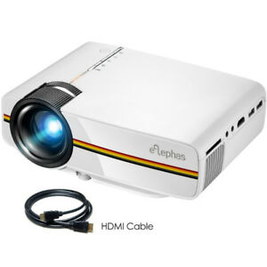 ELEPHAS LED Movie Projector, Support 1080P 150''